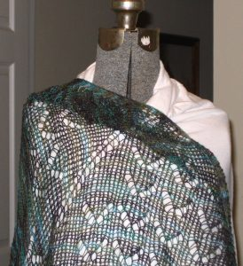 Pacific Northwest Shawl by Fiber Trends