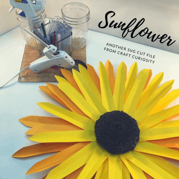 Sunflower SVG File 1