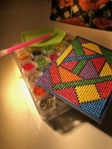 Geometrics Diamond Painting Image for Cricut Design Space 1