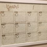 Perpetual Annual Calendar for an Office Command Center