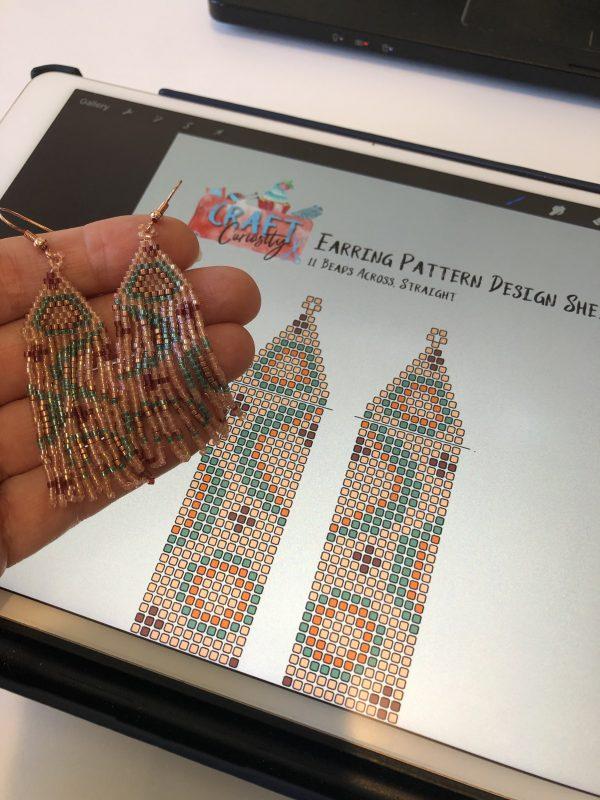 smaller-fringe-earring-design-sheet-for-procreate-eleven-across-straight-fringe-seed-bead-earrings